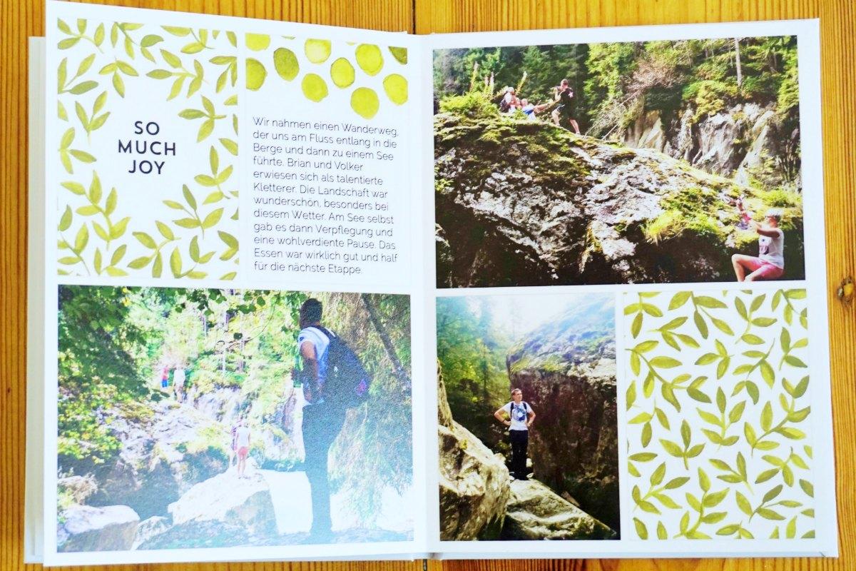 Project Life Fotobuch Ausschnitt