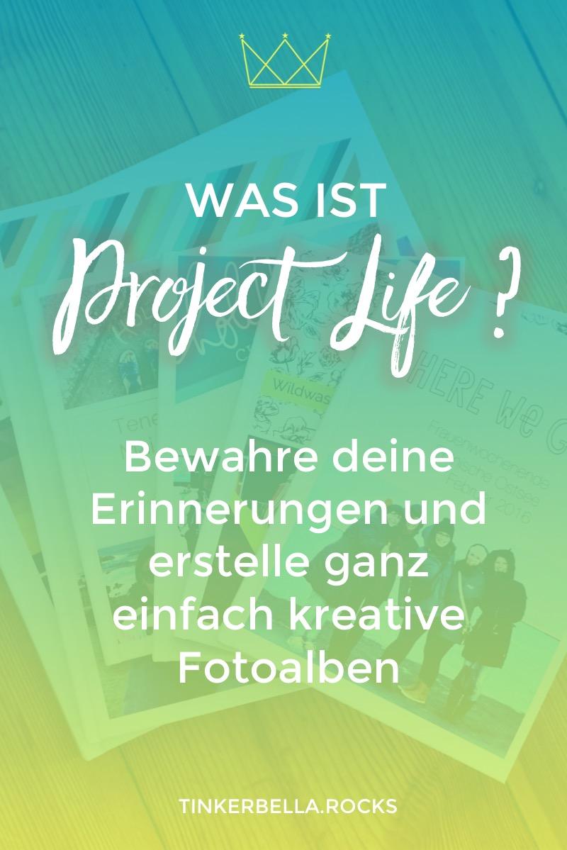 Was ist Project Life? Project Life ist ein System um deine Erinnerungen zu bewahren. Erstelle ganz einfach und kreativ Fotoalben.