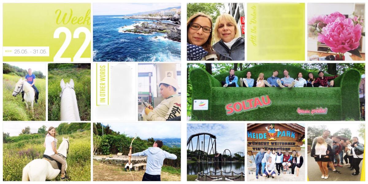 TinkerBella.Rocks Project Life 2015 - Woche 22. Format: 12x12, Project 52