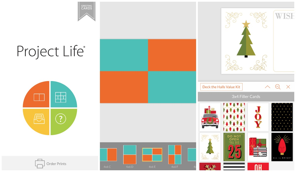 TBR December Daily Project Life App