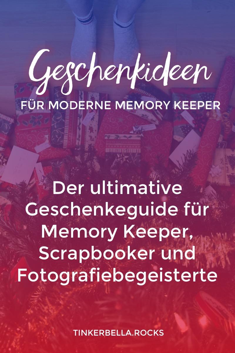 Frustriert bei der Suche nach Geschenken für deine Liebsten. Klicke durch und schaue dir die besten Geschenkideen für moderne Memory Keeper, Scrapbooker und Fotografiebegeisterte an.