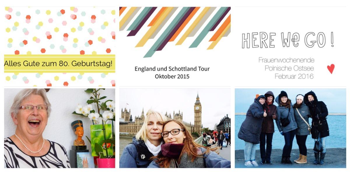 TinkerBella.Rocks Project Life Cover Seiten für Ereignisse als separate Fotobücher