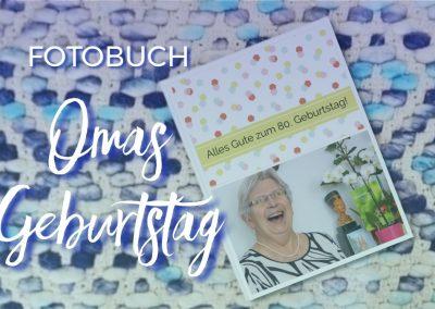 Omas Geburtstag 2016 – Fotobuch