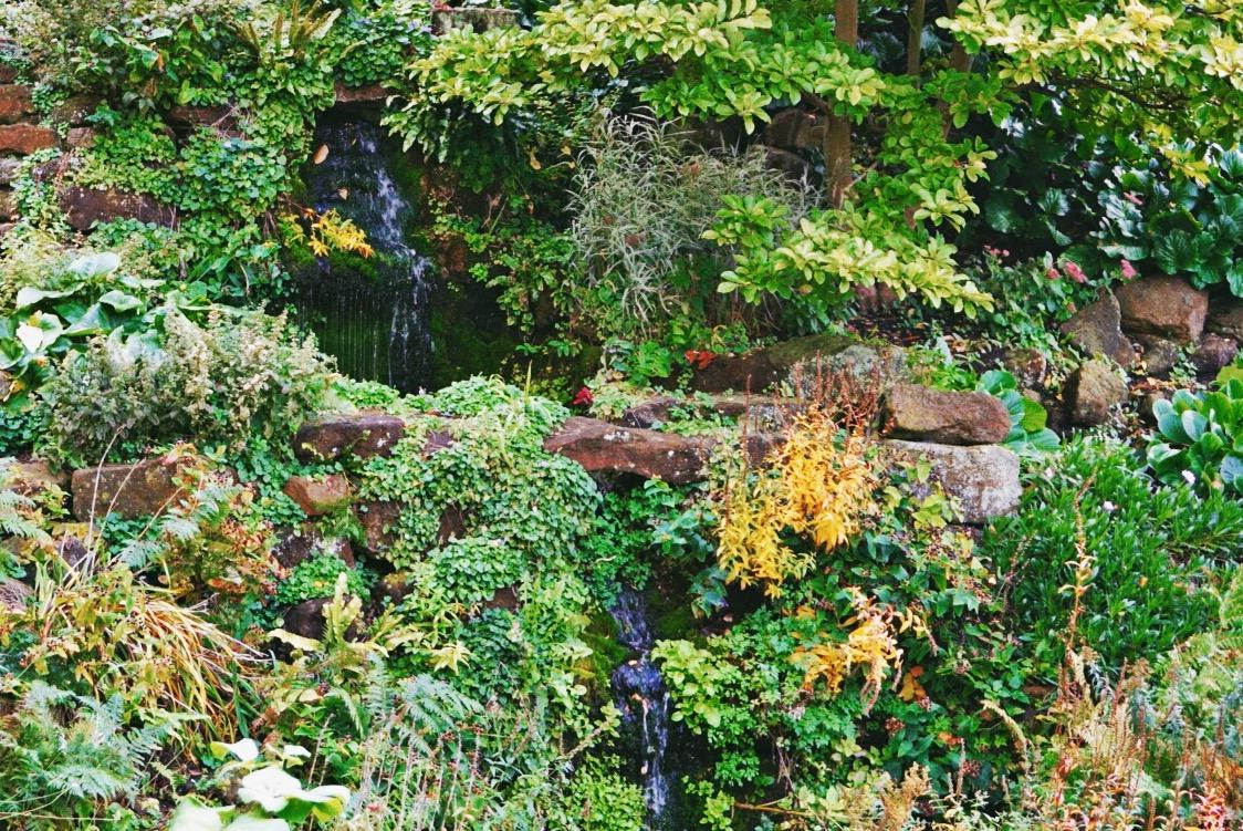 Wasserfall - Fotoidee für den Herbst